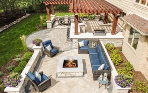 Patio Hardscaping in Frankfort